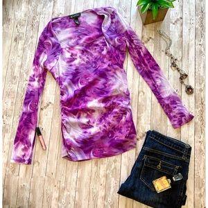 I.N.C. International Concepts purple long sleeve